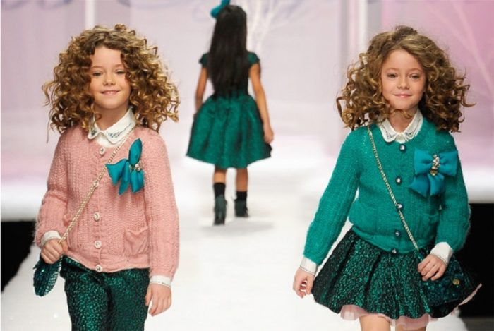 модные расцветки для детей