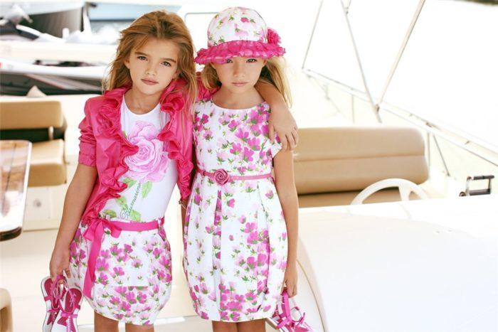 модные расцветки для детей 1 фото