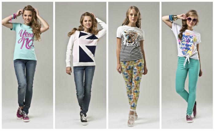 мода для девочек 12-16 лет фото