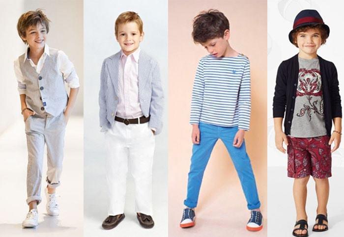 мода мальчиков с семи лет
