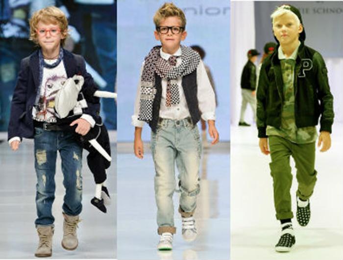 мода мальчиков с десяти лет