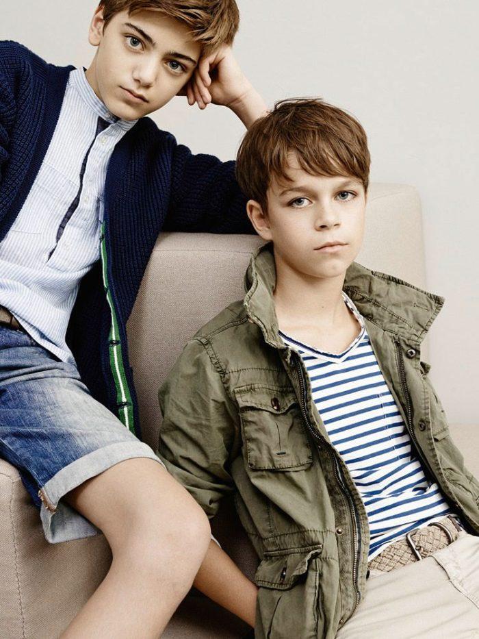 мода мальчиков до двенадцати лет